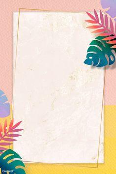 Framed Wallpaper, Cute Wallpaper Backgrounds, Flower Backgrounds, Cute Wallpapers, Background Pictures, Background Patterns, Powerpoint Background Design, Simple Background Design, Instagram Frame