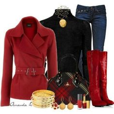 Red Winter/Fall Outfit