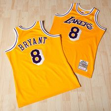 Los Angeles Lakers Kobe Bryant 1996-97 Home Authentic Jersey By Mitchell & Ness