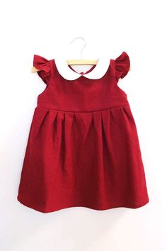 A Happy Little Holiday Gift Guide Baby Girl Dresses, Baby Dress, Girl Outfits, Holiday Gift Guide, Holiday Gifts, Holidays With Toddlers, Holiday Dresses, Green Cotton, Doll Clothes