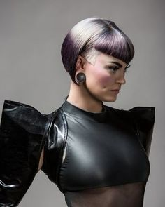 Beauty Trends for Wella Trend Vision 2014. Stylist Alisha Basham. Model: Mandee E