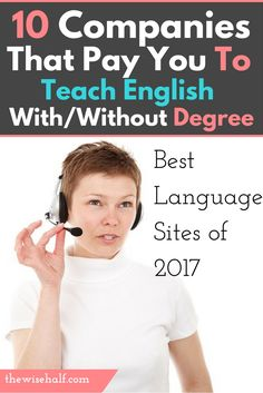 Here's how you can get paid to teach English and any other language with or without a degree. With or without experience. english-tutor