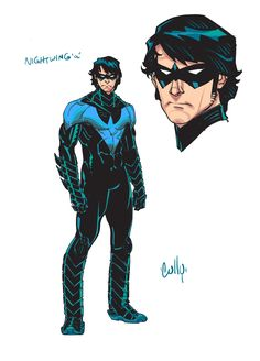 New 52 Nightwing Design//Cully Hamner/H/ Comic Art Community GALLERY OF COMIC ART