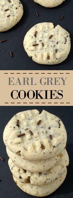 Earl Grey Cookies   Unwed Housewife   Simple, 6-ingredient Earl Grey cookies…