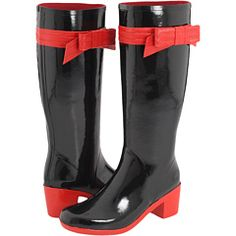 92e6a86388c6 Kate spade new york randi black shiny rubber · Stylish Rain BootsWomens ...