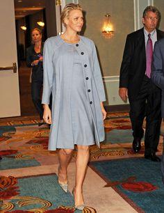 Charlène de Monaco assiste à un congrès mondial contre l'autisme à New York - Charlène de Monaco enceinte : enfin, ça se voit ! - Voici