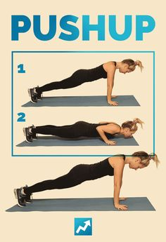 Pushup | The Only 12 Exercises You Need To Know To Get In Shape