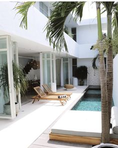 Villa Design, House Design, Outdoor Spaces, Outdoor Living, Small Pools, Plunge Pool, Beautiful Pools, Swimming Pools, Lap Pools