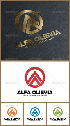 Alfa — Vector EPS #concept #a • Available here → https://graphicriver.net/item/alfa/6912995?ref=pxcr