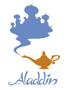 Aladdin by Citron--Vert.deviantart.com on @deviantART - Part of a series of minimalist Disney movie posters.
