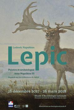 """Exposition """"Ludovic-Napoléon Lepic, peintre et archéologue sous Napoléon III. Regards sur les collections du MAN"""", du 16 décembre 2017 au 26 mars 2018. © MAN"""