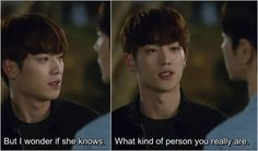 Cheese in the Trap In-Ho threatens Jung