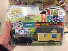 Reader Spots Tiny House on Wheels Toy at Hobby Lobby