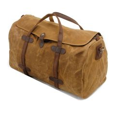 2656cdafdf5 Leather Duffle Bag, Weekender Bag Mens, Waxed Canvas Duffle Bag, Man Duffel  Bag