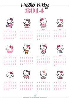 Diy free hello kitty calendar i just love hello kitty diy free a4 hello kitty calendar more hello kitty stuff download a4 hello kitty solutioingenieria