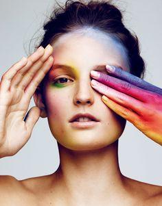 Publication: Vogue Japan January 2016. Model: Julia Fleming. Photographer: Ben Hassett. Hair: Tamara McNaughton. Make-up: Violette. Nails: Naomi Yasuda.