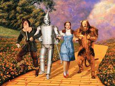 Peça conta a história de Dorothy e seu cachorro, Totó, que após um tornado vão parar em uma terra fantástica de bruxas, mágicos, homem de lata que sonha ter um coração, leões covardes e espantalhos falantes: Oz