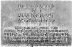 Bendler Block Memorial Crop - Atentado de 20 de julho – Wikipédia, a enciclopédia livre
