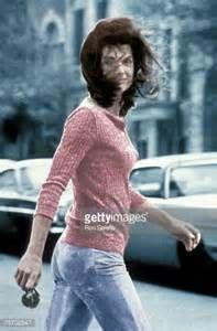 News Photo : Jackie Onassis 'Windblown Jackie'