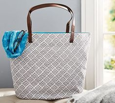 Leya Tote Bag - Gray #potterybarn