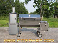 bbq smokers   BBQ Smokers Stainless Steel Sniper BBQ Smoker