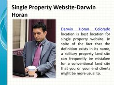 Darwin Horan research show Successful land promoting rotates around two primary destinations, (1) to procure new   postings and (2) to offer existing postings. To accomplish these goals it is vital to appropriately show your   stock and demonstrate to imminent dealers that you're advertising endeavors are second to none.  For more updates and Darwin Horan click here www.darwin-horan.net/
