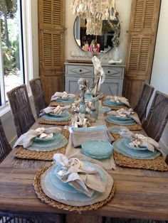 47 Stunning Coastal Kitchen Decorating Table Design The Effective Pictures We Offer You About vintage beach house decor A quality picture can tell you many things. You can find the most beautiful pict Rustic Beach Decor, Beach House Decor, Coastal Decor, Beach Houses, Modern Coastal, Beach Kitchen Decor, Coastal Industrial, Coastal Bedding, Coastal Lighting