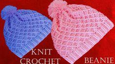 Como tejer un gorro a crochet - Beanie hat easy Crochet