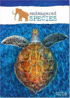 Endangered Species - Wildlife wall calendar