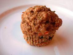 Zuccini carrot banana muffins Breakfast | Friends for Weight Loss