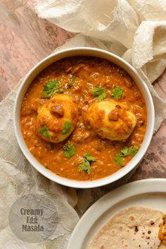 Creamy Egg Masala - Egg Curry with Cashew nuts