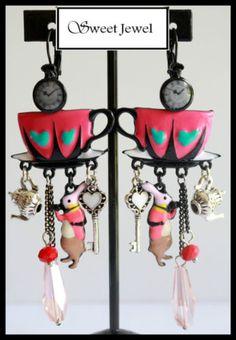 Lol Bijoux Boucles d /'Oreilles Faon Fuchsia
