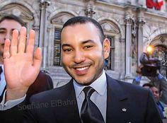Roi Mohamed 6, Le Roi Hassan 2, Suit Jacket, Suits, Photos, Jackets, Clothes, Fashion, Morocco