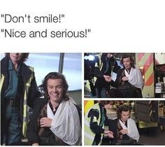 So that tells you Harry Styles is a very smiley person:)