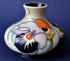 Moorcroft Pottery Thoughts in Flight 32/5 Emma Bossons http://www.bwthornton.co.uk/moorcroft.php