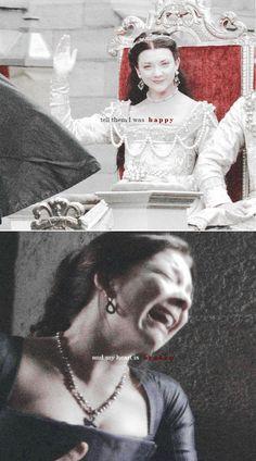 Anne Boleyn: All my scars are open... #tudors