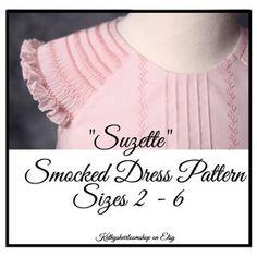 Hope's Hi-Low Dress PDF Pattern Sizes 6/12m to 8 Kids   Etsy Gingham Fabric, Hi Low Dresses, Linens And Lace, Pattern Making, Sew Pattern, Printer Paper, Easter Dress, Pdf Patterns, Digital Pattern