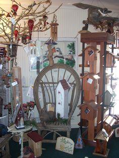 "The Secret Garden in Waynesville, OH.  This is ""The Bird House"""