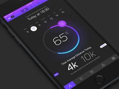 I had an old interface lying around I wanted to turbo-charge and drop on an Mobile Ui Design, App Ui Design, User Interface Design, Free Workout Apps, Iphone Ui, Ui Design Inspiration, Psd Templates, Free Design, Fitness App