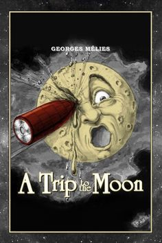 A Trip to The Moon is a science fiction film from the French film pioneer Georges Méliès from the year 1902 about a trip to the moon. The film was the first film with a self-contained plot and was the beginning of the Science Fiction genre. Streaming Movies, Hd Movies, Film Movie, Movies To Watch, Movies Online, Pixar, Professor, The Great Train Robbery, Wells
