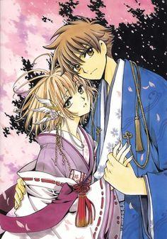 Syaoran Li (李小狼) & Sakura (サクラ)   Tsubasa: RESERVoir CHRoNiCLE (ツバサ -RESERVoir CHRoNiCLE-), TCR, Tsubasa   CLAMP