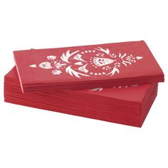 IKEA VINTER 2016 Paper napkin Red/white cm The napkin is highly absorbent because it's made of three-ply paper. Ikea Christmas, Christmas Love, Winter Holidays, Christmas Holidays, White Art, Red And White, Ikea Kids, Affordable Furniture, Paper Napkins