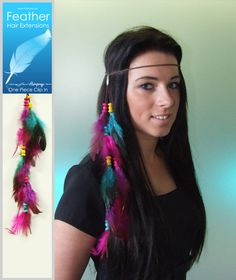 Feather Hair Extensions H11061920 Feather Hair, Hairspray, Beauty Shop, Cut And Color, Hair Extensions, Eyelashes, Hair Beauty, Make Up, Craft