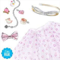 Treat Your Tiny Valentine: Girls' Jewelry & More. #LittleRue