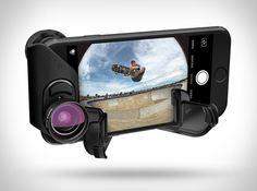 Fotógrafos de smartphones alegrem-se! AOllocliprevelou o seu novo sistema de lentes permutáveis para iPhone 7. O novo sistema Connect oferece uma qualidade de imagem incomparável. Você terá versatilidade com as novas lentes que sã