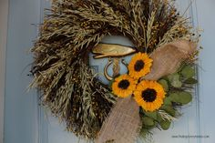 Seasons of Home - Outdoor Decor - natural wreath.