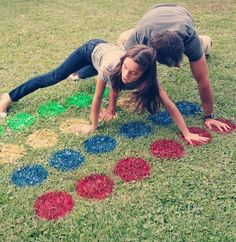 Here's an awesome tailgate game to try... LAWN TWISTER!