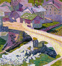 Alberto Giacometti, Giovanni Giacometti, Ferdinand, Art Pictures, Art Images, Landscape Art, Landscape Paintings, Van Gogh, Post Impressionism