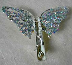 butterfly clips I remember when these first got popular and I just had to have some I used to wear the m all the time to school!