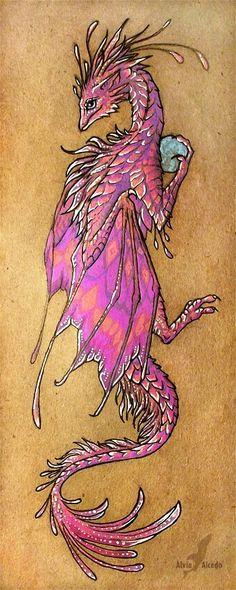 Dragon yin yang tattoo idea tattoo ideas pinterest for Dragon lily tattoo